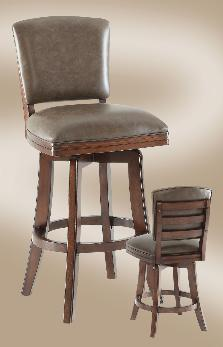 0434-35/50-CS Counter Stool 0475-35/50BS Bar Stool 26u201d x 23u201d x 46u201d Toscana Stool With bonded leather in our Black Oak finish or distressed Walnut & ECI Barstools islam-shia.org